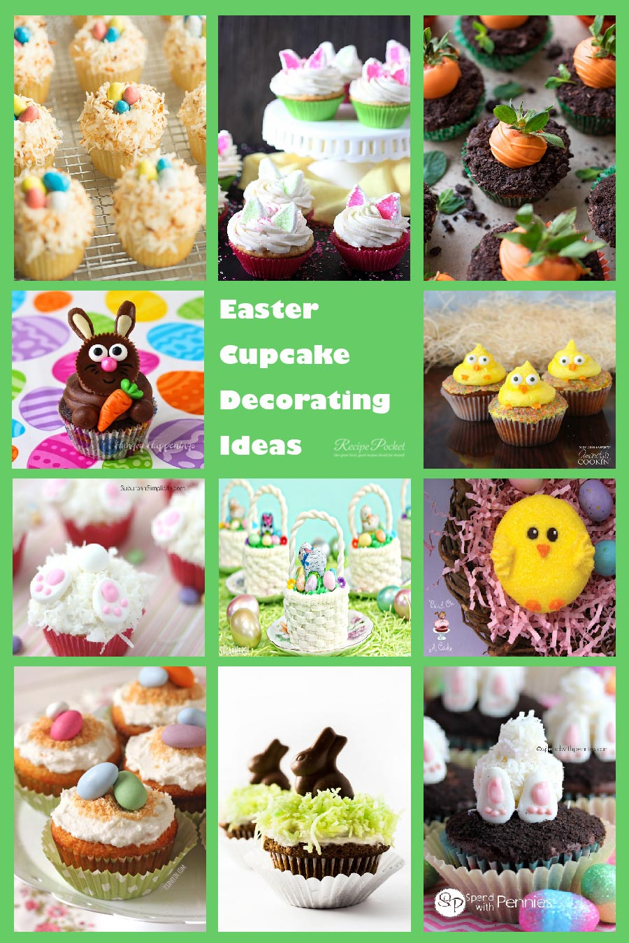 Easter Cupcake Decorations And Recipe Ideas Recipe Pocket